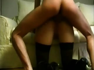Bälle tief in den Arsch