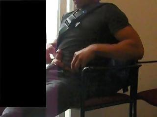 Str8 passen Männer Hände frei in Cyber Cafe