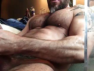 Str8 Bär schürzen beim Porno