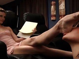 zickige Ballerina Fuß Anbetung