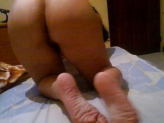 gute Füße und großer Arsch