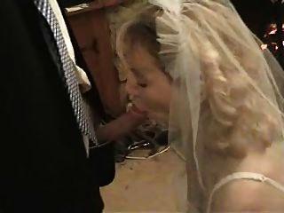 hier cums die Braut i