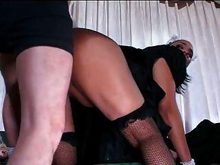 sexy schwarze Magd 2