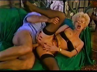 reife sexy Strümpfe und Fisting