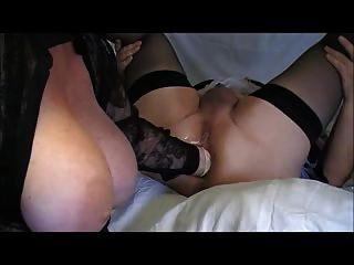 meine boobs und seine Fotze