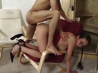 sexy schwangere Babe liebt es in allen Löchern