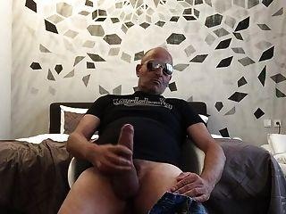 Str8 Daddy Spiel im Schlafzimmer
