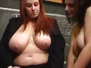 busty lesbian teacher gefickt
