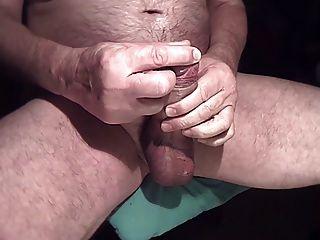 cremige Cumshot Zeitlupe große Ladung Sperma