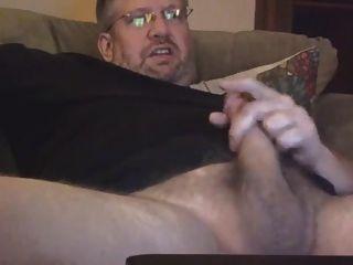 Gerade Bär Daddy auf Cam