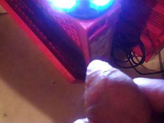wichsen vor der webcam