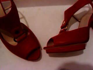 Frau Fersen Schuhe cum3