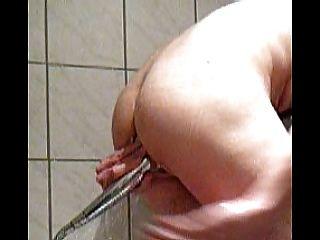 Duschkopf Einfügung Einlauf