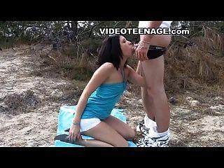 Teen Sex am Strand