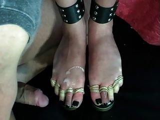 Fuß Folter Bier Fußjob