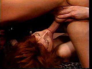 Hündin wird doppelt vaginal fucking