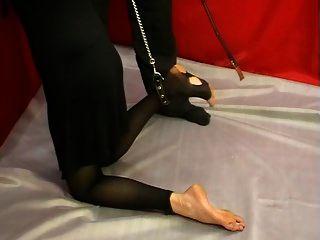 Nylons Mädchen Folter