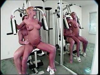 Scharlach in der Turnhalle anal