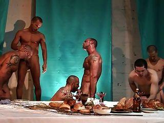 nach dem Abendessen Orgie