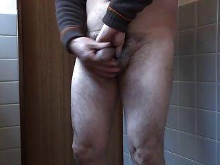 japanischer alter Mann Masturbation aufrecht Penis
