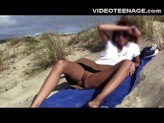 teen nathalie nackt am strand