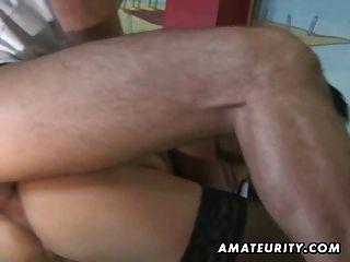 Amateur Teen Freundin Anal Fick mit Cumshot