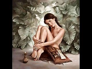 surrealistische erotische sinnliche kunst von johnny palacios hidalgo