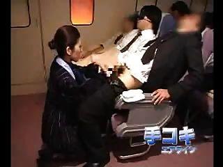 asiatische Stewardess (Innenwelt)