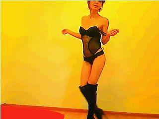 sexy 52 Jahre alten Gilf Tanzen (nicht nackt)