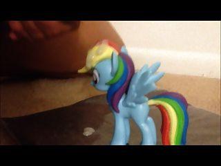 cum auf Figur mein kleines Pony
