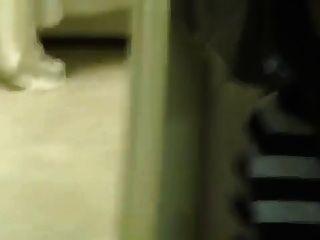 Strumpfhosen Füße lecken im Babier