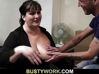 Interview führt zum Sex mit busty chick
