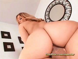 Hot Cum auf einem unglaublichen sexy Arsch