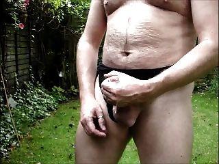 Nahaufnahme Garten Sperma Schuss