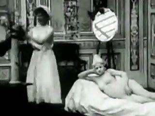 Vintager erotischer Film 3 das freche Zimmermädchen 1907