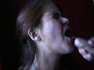 webman schwedische reife dame saugen dick und bekommen Gesichtsbehandlung