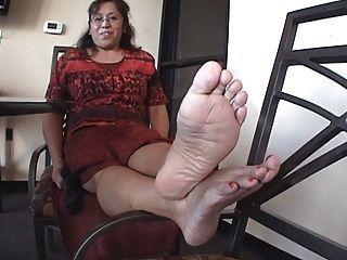 reifen Latina Füße.