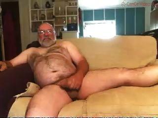 Papa Schläge auf der Couch
