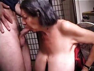 bbw granny mit massiven Titten wird fucking