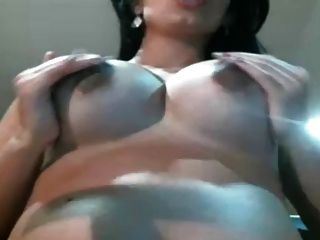 wunderschöne schwangere Mädchen auf Webcam 4