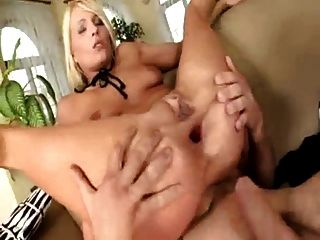 superb melissa hard double anal