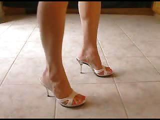 sexy Maultier Fersen und schöne Füße