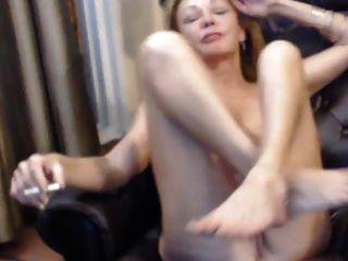 busty 56 Jahre alten Milf Hündin necken auf Webcam