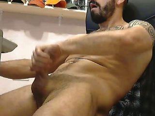 heiße tatooed muscle stud jack off
