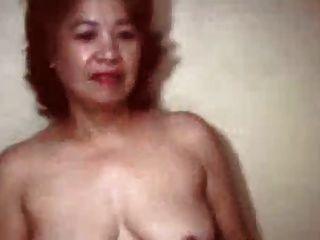 sehr alte chinesische Oma