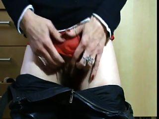 pervers reifes Spiel mit ihrem nassen Schlüpfer