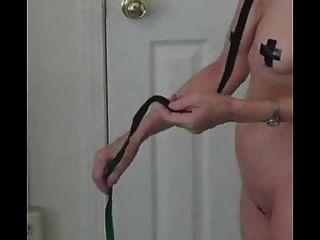Sprühen Sperma auf ihr Gesicht (reifen Amateur)
