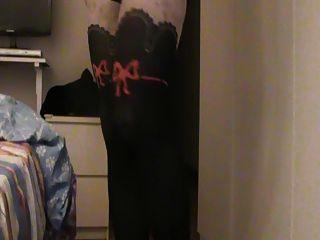 crossdresser new black thong und bra ... kostenlos !!!