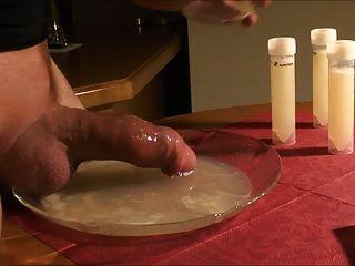 ein Cumbath für meinen sexy Schwanz