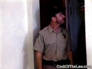 Bienerleder Bär fickt Polizist